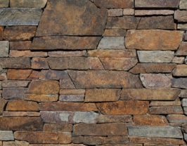 Autumn Flame Ledgestone Veneer