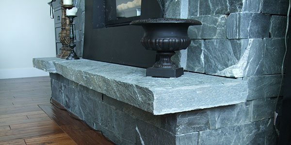 Flamed Fireplace Hearth