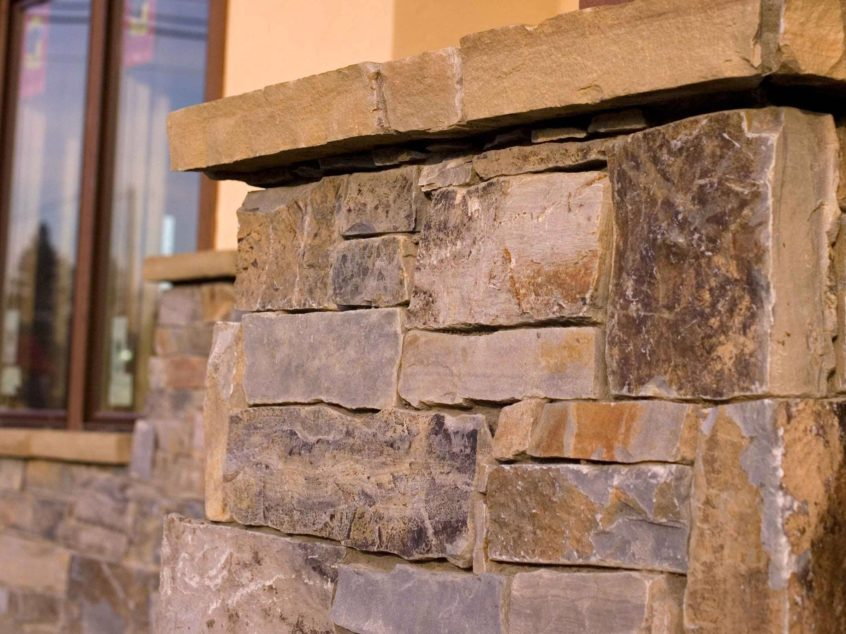 Moose Mountain Full Bed Ledge Stone K2 Stone