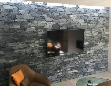 Interior Stone Feature Walls